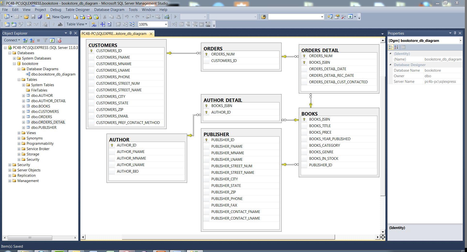 database diagram visual studio 2013 1999 dodge durango car radio wiring sql sample azure directquery