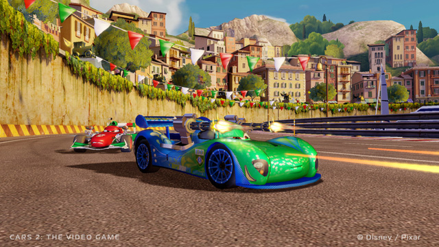 Cars 2 The Video Game Ps3 Front Cover