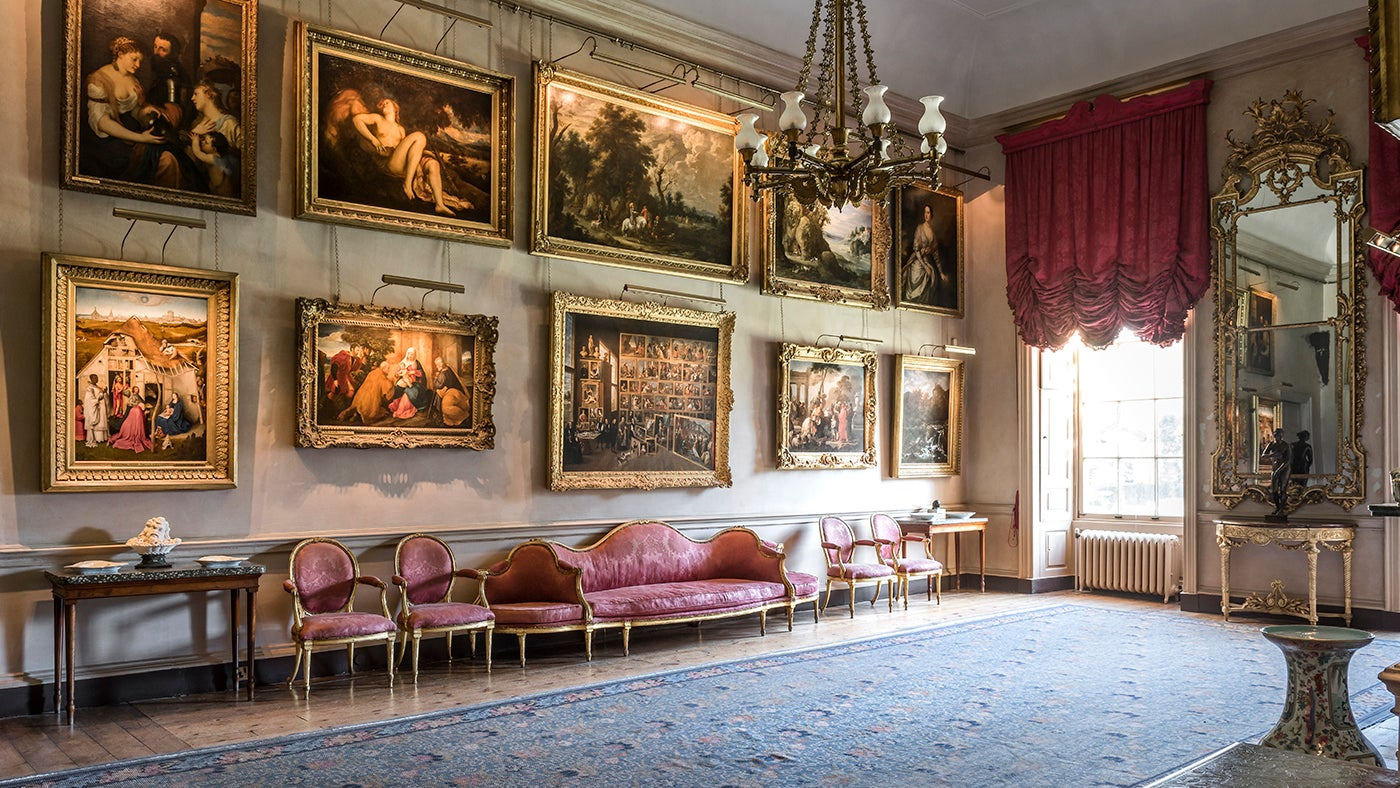 The State Rooms Of Petworth House National Trust