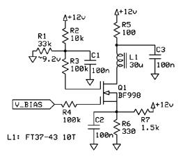 Dual Gate MOSFET Investigations – Biasing