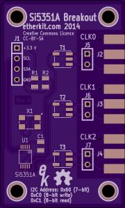 Si5351A Breakout Board