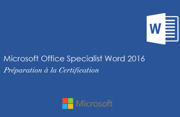 Word 2016 Niveau Spécialiste
