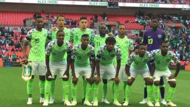 Photo of FIFA Ranking: Nigeria drops by 3 spots, now world 32nd
