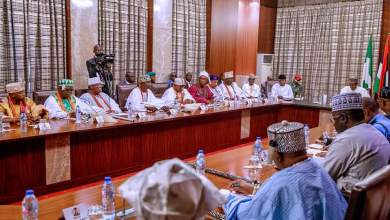 Photo of Remarks by His Excellency, President Muhammadu Buhari at a Meeting with SouthWest Obas
