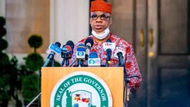 Photo of Gov. Dapo Abiodun's Address, Monday 26th October, 2020