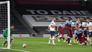 Photo of Kane on target as Spurs win to leave West Ham in trouble