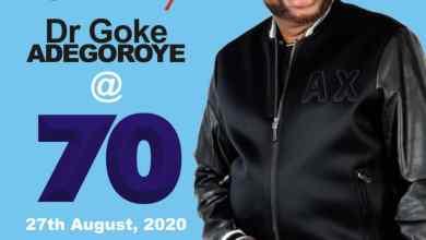 Photo of Celebrating Dr. Goke Adegoroye @ 70