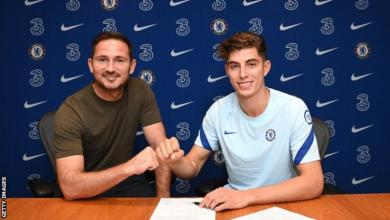 Photo of Kai Havertz: Chelsea sign Bayer Leverkusen midfielder in £71m deal