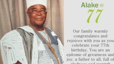 Photo of Asiwaju Niyi Akanni Felicitates Kabiyesi Alake @ 77