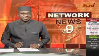 Photo of Video: NTA Network News @ 9pm, 7th September, 2020