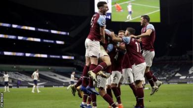 Photo of EPL: West Ham fight back to draw from three down to stun Spurs