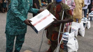 Photo of Indigent, Vulnerable Citizens get COVID-19 Palliatives in Ogun State