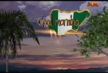 Photo of Video: Good Morning Nigeria | 03rd December, 2020 | NTA