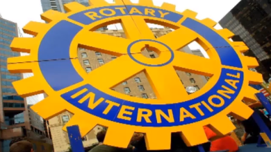 Photo of Video: Installation of Rotarian Musbau Olawunmi as 19th President Rotary Club Abeokuta Metro