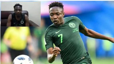 Photo of Musa begs Nigerians after Eagles poor show in AFCON qualifier