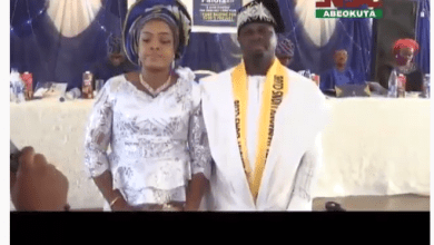 Photo of Video: Investiture of Olumide Falola as the Charter President, Abeokuta Harmony Lions Club