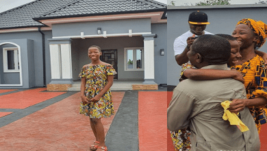 Photo of Kid comedian Emmanuella builds house for mum