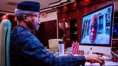 Photo of Osinbajo welcomes new research effort on COVID-19 drug