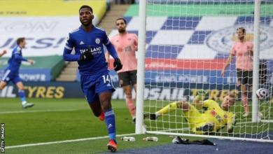 Photo of Iheanacho scores hat-trick against sorry Blades