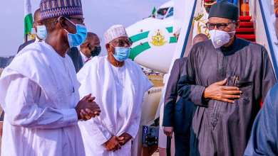 Photo of Buhari bounces back, preaches compassion