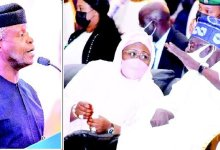 Photo of Osinbajo, Tinubu extol Aisha Buhari at book launch