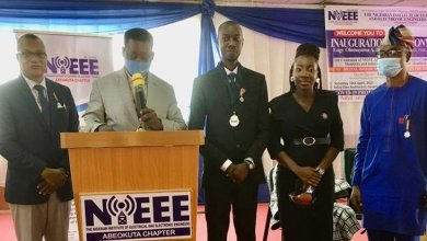 Photo of Olumayowa Idowu inaugurates as Chairman Nigerian Institute of Electrical and Electronics Engineers