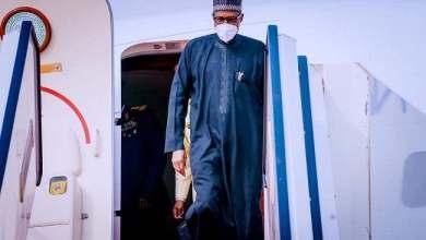 Photo of Buhari Arrives Abuja From France