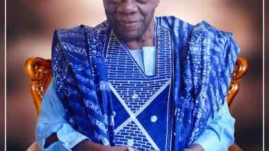 Photo of Buhari Greets Alhaji Asafa Erogbogbo at 95