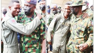 Photo of Pilot jumps to safety after bandits bring down NAF jet