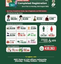 Photo of Over 2m Nigerians register online for CVR- INEC