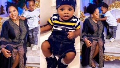 Photo of Toyin Abraham's son secures multi-million endorsement deal