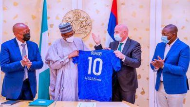 Photo of Buhari Pledges to use Football for National Development, Unity
