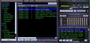 Digital-Nostalgie pur: Die Musik-Bibliothek wurde mit Winamp verwaltet. (Screenshot: portable-winamp.en.softonic.com)