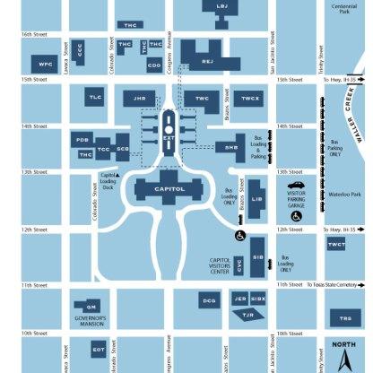 Capitol Complex Map