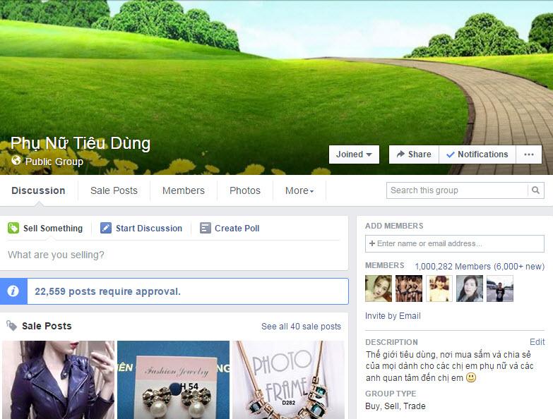 Bí quyết bán hàng online qua Facebook: Để khách hàng tự tìm đến!