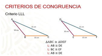 Las triangulos encuentre congruentes de parejas Triángulos Congruentes