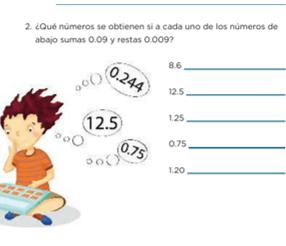 Problemas Aditivos Con Numeros Decimales Ii Matematicas Sexto De Primaria Nte Mx Recursos Educativos En Linea