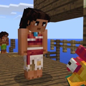 Minecraft - Moana Character Pack Trailer
