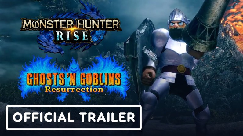 Monster Hunter Rise x Ghosts 'n Goblins Resurrection - Official Collaboration Trailer | TGS 2021