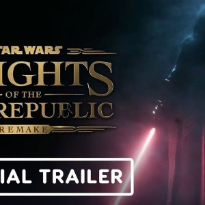 Knights of the Old Republic Remake - Official Cinematic Reveal Trailer | PlayStation Showcase 2021