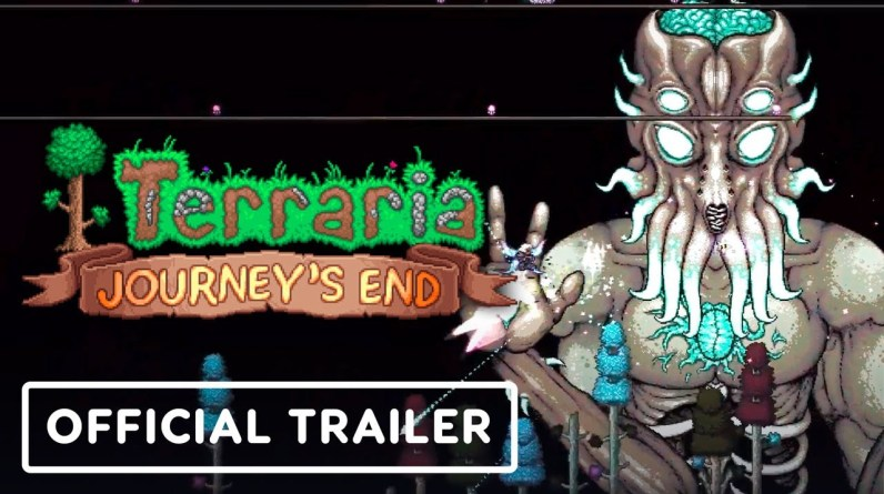 Terraria - Official Journey's End Update 1.4 Launch Trailer
