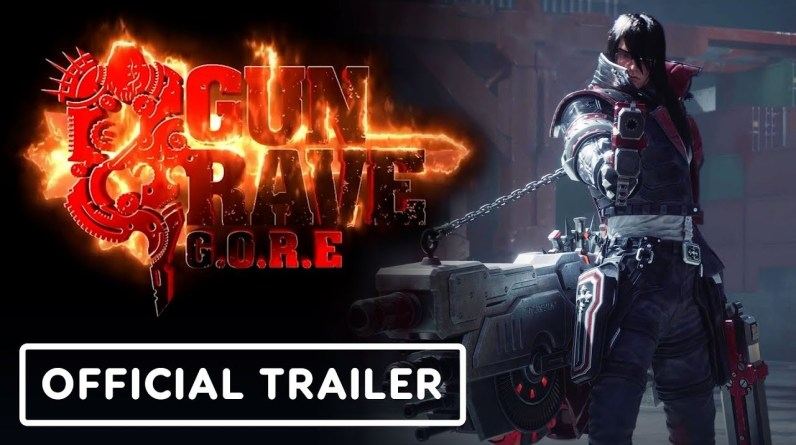 Gungrave G.O.R.E - Official Gameplay Reveal And Extended Cinematic Trailer