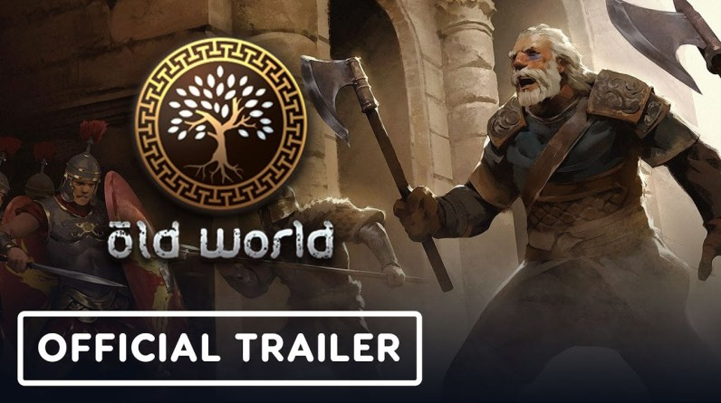 Old World - Official Steam and GOG Release Date Announcement Trailer