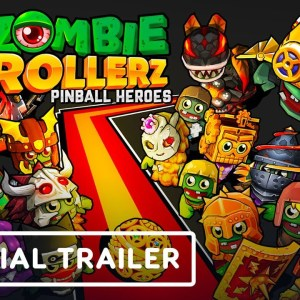 Zombie Rollerz: Pinball Heroes - Official Announcement Trailer