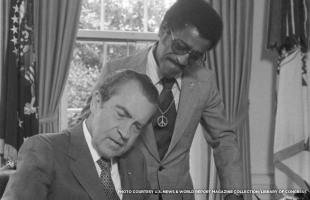Image result for nixon sammy davis hug