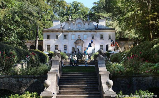 Atlanta S Swan House From Historic Home To Hunger Games