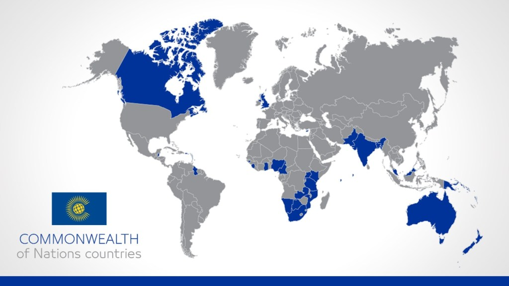 Commonwealth of Nations countries NTL