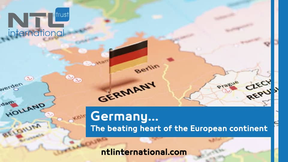 Germany the beating heart of the European continent