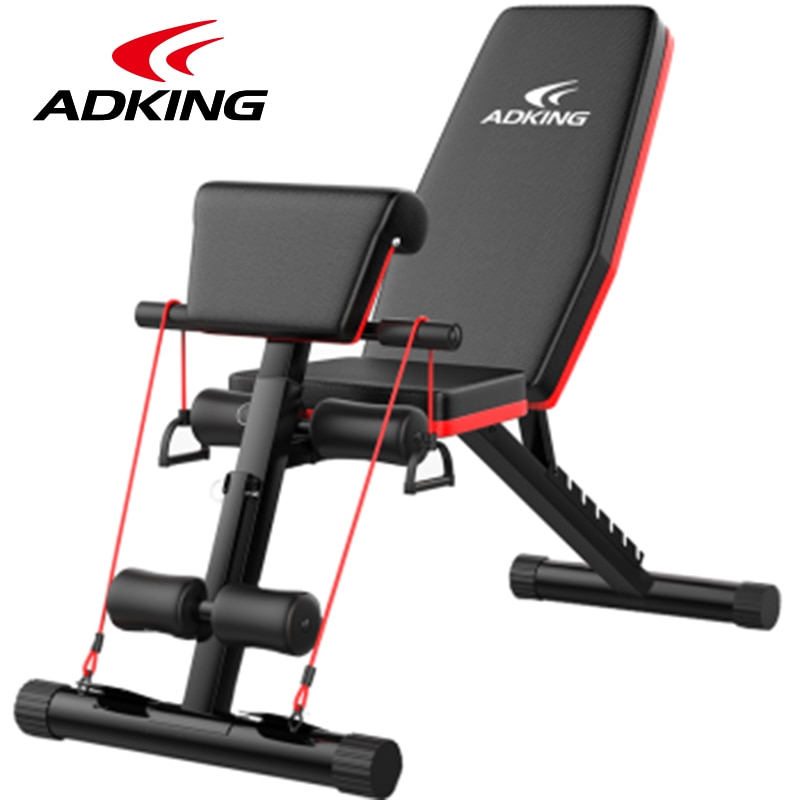 6 in 1 gym bench Multifunctional Supine Board Foldable abdominal machine bodybuilding home fitness equipment