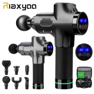 High frequency Massage gun muscle relax body relaxation Electric massager with portable bag for fitness